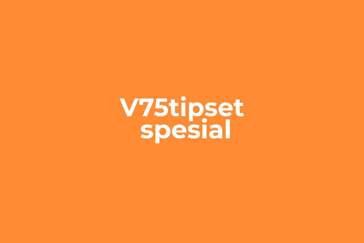 V75tipset spesial